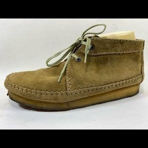 Clarks Originals Leather Chukka Boots Mens 10.5M
